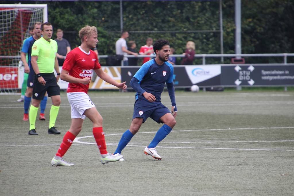 Excelsior 31 - Sportlust 46, Arie Verhagen/ Zakaria Issarti