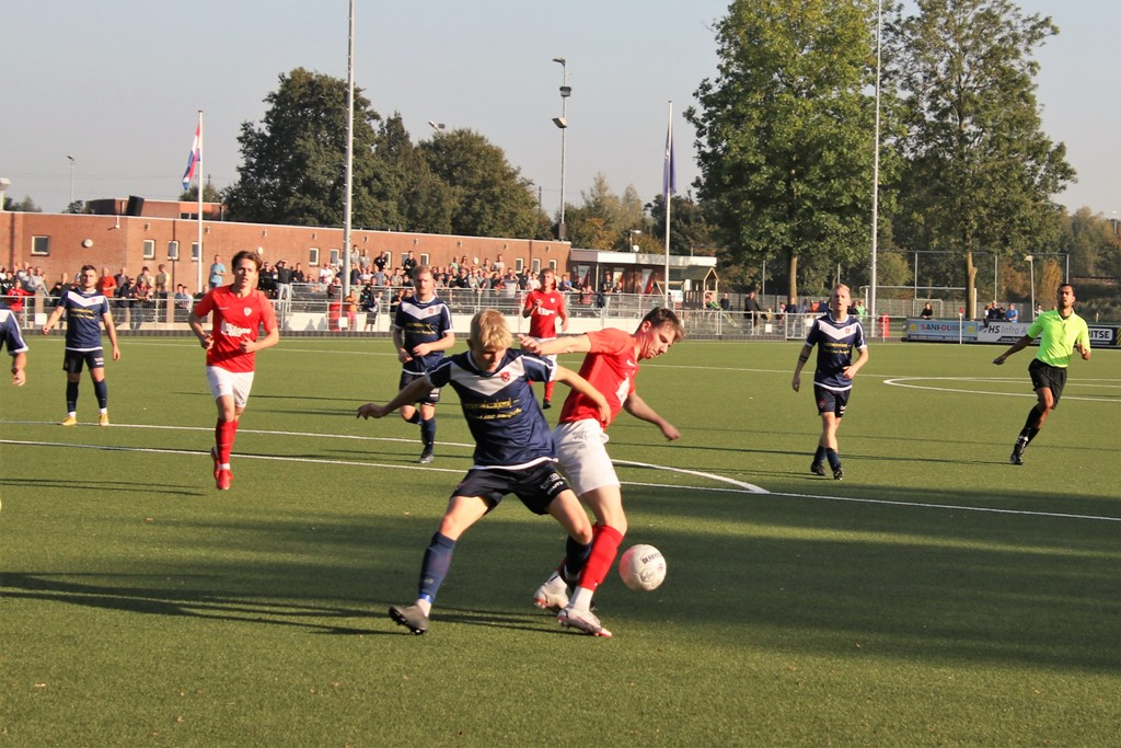 Sportlust '46 - Harkemase Boys - Arie Verhagen, Mark van der Weijden